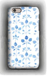 Blå blomster deksel IPhone 6s tough