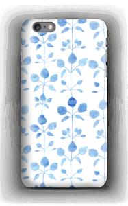 Blue flowers case IPhone 6s Plus