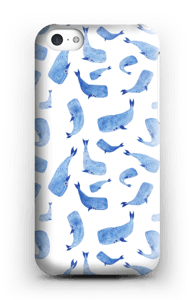 Baleines bleues Coque  IPhone 5c