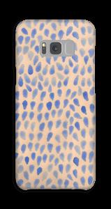 Blå dråper deksel Galaxy S8 Plus