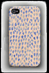 Blå dråper deksel IPhone 4/4s