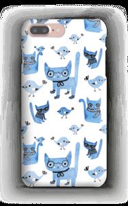Oiseaux et chats Coque  IPhone 7 Plus