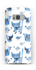 Cats & birds case Galaxy S8