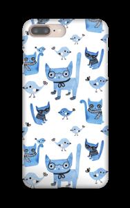 Oiseaux et chats Coque  IPhone 8 Plus