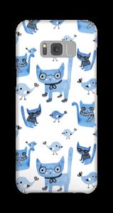 Cats & birds case Galaxy S8 Plus