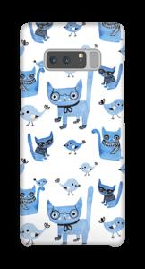 Oiseaux et chats Coque  Galaxy Note8