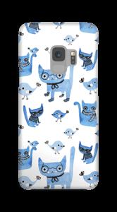 Oiseaux et chats Coque  Galaxy S9