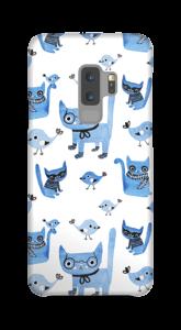 Oiseaux et chats Coque  Galaxy S9 Plus