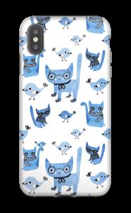 Oiseaux et chats Coque  IPhone XS Max tough