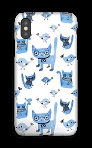 Uccelli e gatti cover IPhone XS