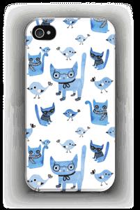 Oiseaux et chats Coque  IPhone 4/4s