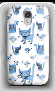 Oiseaux et chats Coque  Galaxy S4