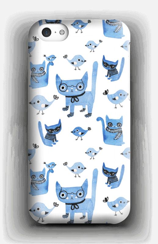 Cats & birds case IPhone 5c