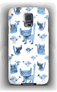 Cats & birds case Galaxy S5