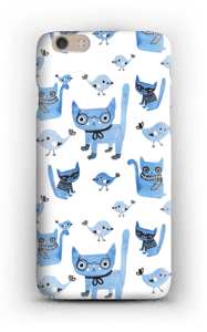 Oiseaux et chats Coque  IPhone 6 Plus