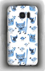Cats & birds case Galaxy S6