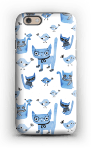 Cats & birds case IPhone 6s tough