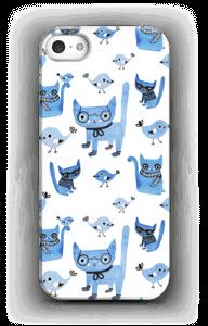 Fugler og katter deksel IPhone SE