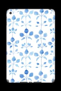 Flowers in blue Skin IPad Mini 4