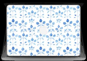 "Blå blomster Skin MacBook Pro Retina 13"" 2015"