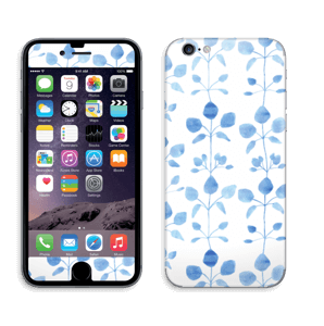 Blå blomster Skin IPhone 6/6s