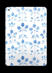 Flores Azules vinilo  IPad 2017