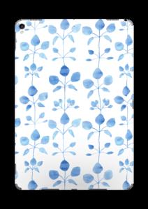 Blå blomster Skin IPad Pro 10.5
