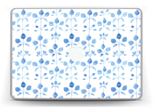 Blue flowers  Skin MacBook Pro 13