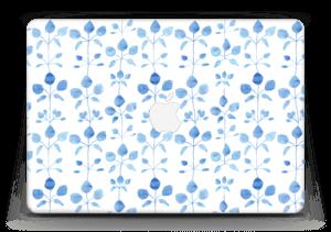 "Blå blomster Skin MacBook Air 13"""