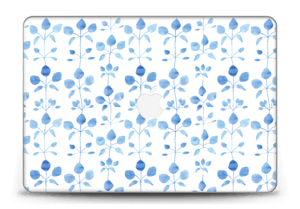 Blue flowers  Skin MacBook Pro Retina 15