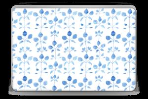 Blue flowers  Skin Laptop 15.6