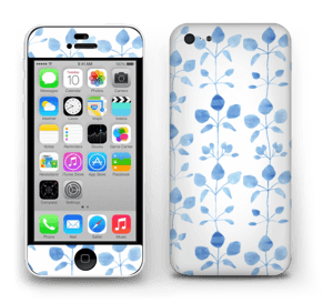 Blå blomster Skin IPhone 5c