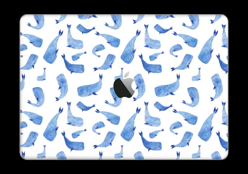 "Whales in blue Skin MacBook Pro 13"" 2016-"