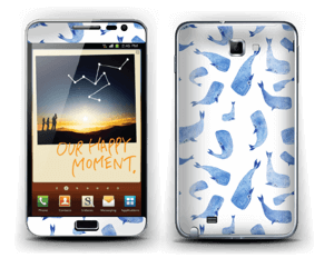 Blue whales  Skin Galaxy Note