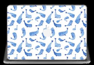 """Whales in blue Skin MacBook Pro Retina 15"""" 2015"""