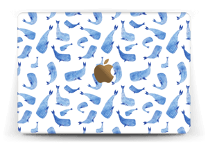 "Blå hvaler Skin MacBook 12"""