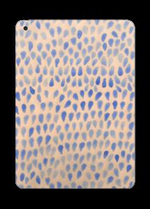 Drops in blue Skin IPad 2017