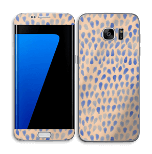 Drops in blue Skin Galaxy S7 Edge