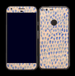 Gouttes bleues Skin Pixel XL