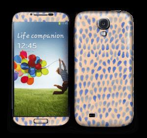 Drops in blue Skin Galaxy S4