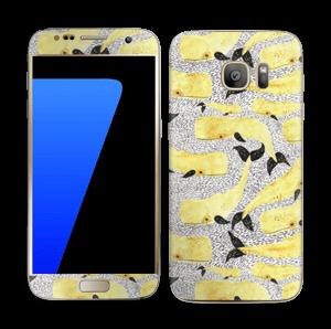 Baleines jaunes Skin Galaxy S7