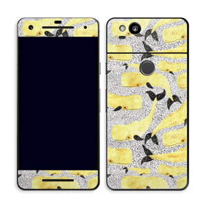 Yellow whales skin Pixel 2