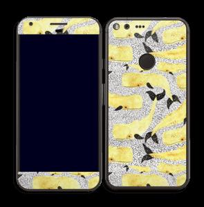 Baleines jaunes Skin Pixel XL