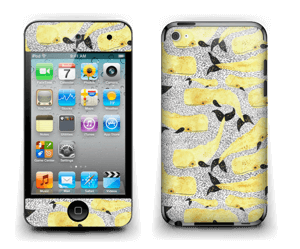 Yellow whales Skin IPod Touch 4th Gen