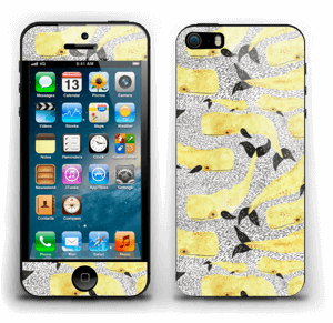 Yellow whales Skin IPhone 5s