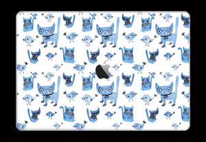 Cats & birds  Skin MacBook Pro Touch Bar 15