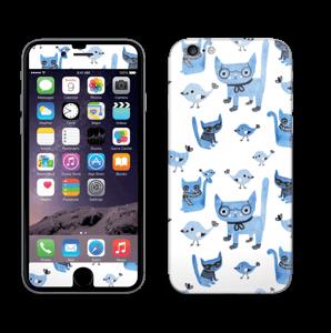 Birds & cats Skin IPhone 6/6s