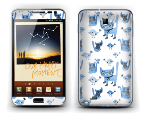 Cats & birds  Skin Galaxy Note