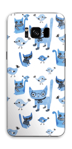 Birds & cats Skin Galaxy S8