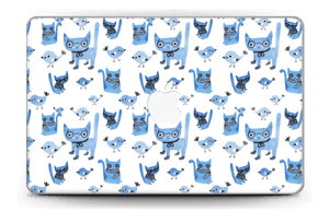 "Birds & cats Skin MacBook Air 11"""